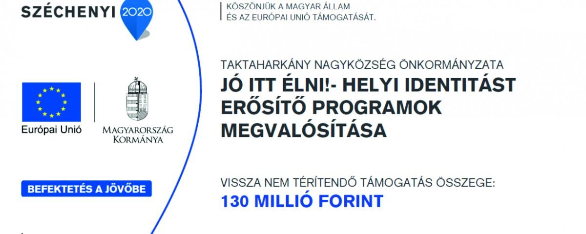 TOP-5.3.1-16 TAKTAHARKÁNY HELYI IDENTITÁS TÁBLA